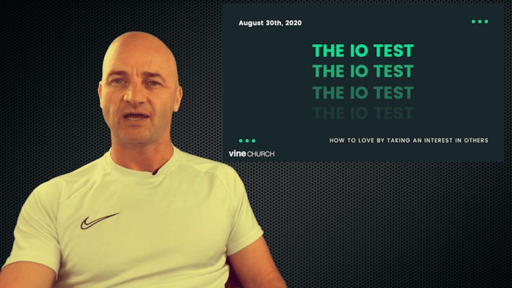 The IO Test